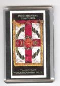 WORCESTERSHIRE REGIMENT 2nd Bn COLOURS FRIDGE MAGNET